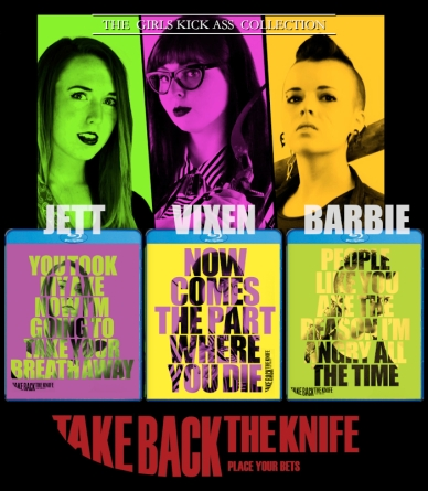 Take Back the Knife [Character Blu-Ray w/ Limited Slipcover] $28.99