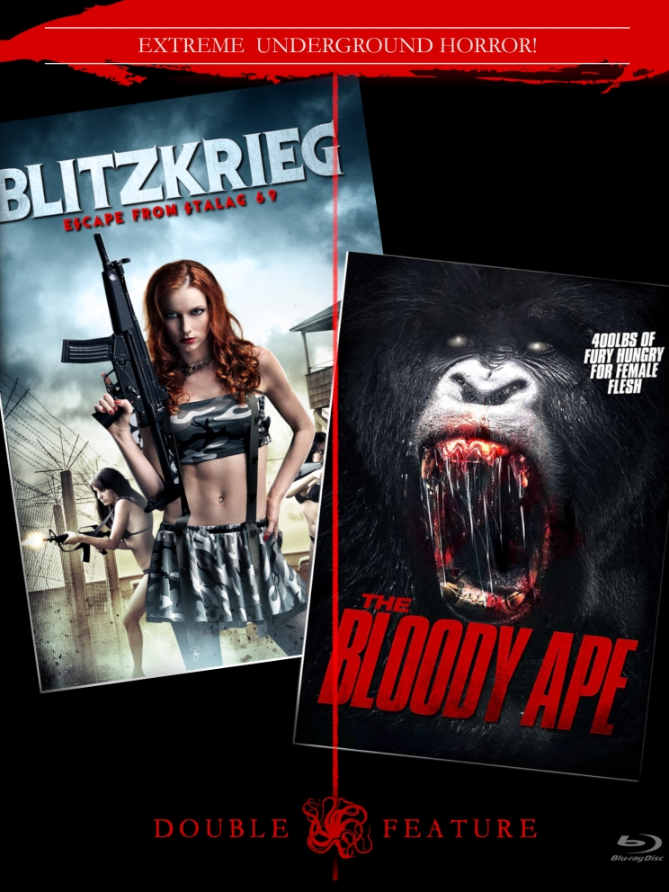 Blitzkrieg Double Feature [Blu-Ray w/ Limited Slipcover] $28.99